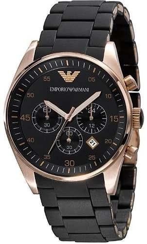0e4b42f5530 Relógio Emporio Armani Ar5905 Preto Lindo Frete Grátis. - R  249