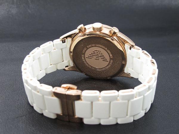 4f93024d230 Relógio Emporio Armani Ar5919 Branco Rose Garantia De 2 Anos - R ...