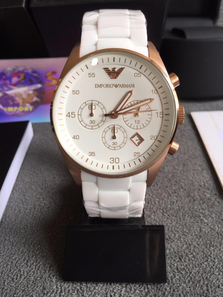 cd039b02a1e Relógio Emporio Armani Ar5919 Original Completo Com Caixa - R  549 ...