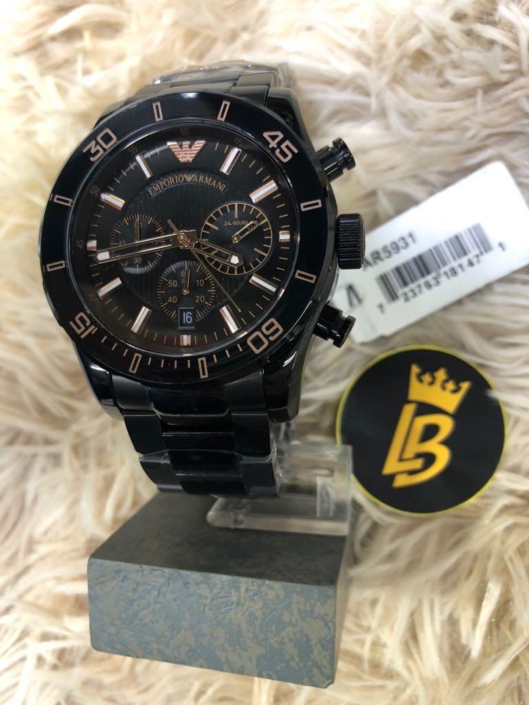 ce98e5081b0 Relógio Empório Armani Ar5931 Original