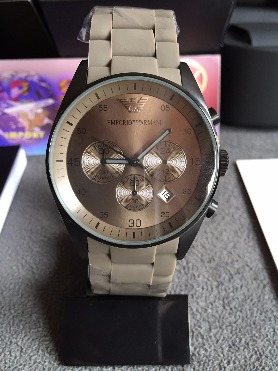 def99c41bae Relógio Emporio Armani Ar5950 100% Original 12x Sem Juros - R  419 ...