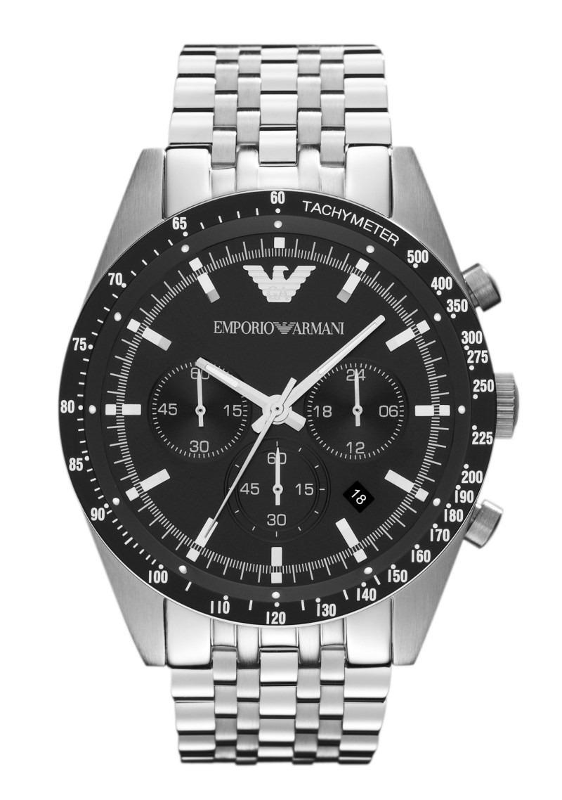 43a46c277e3 Relógio Emporio Armani Ar5988 Preto Prata Original Garanti - R  383 ...