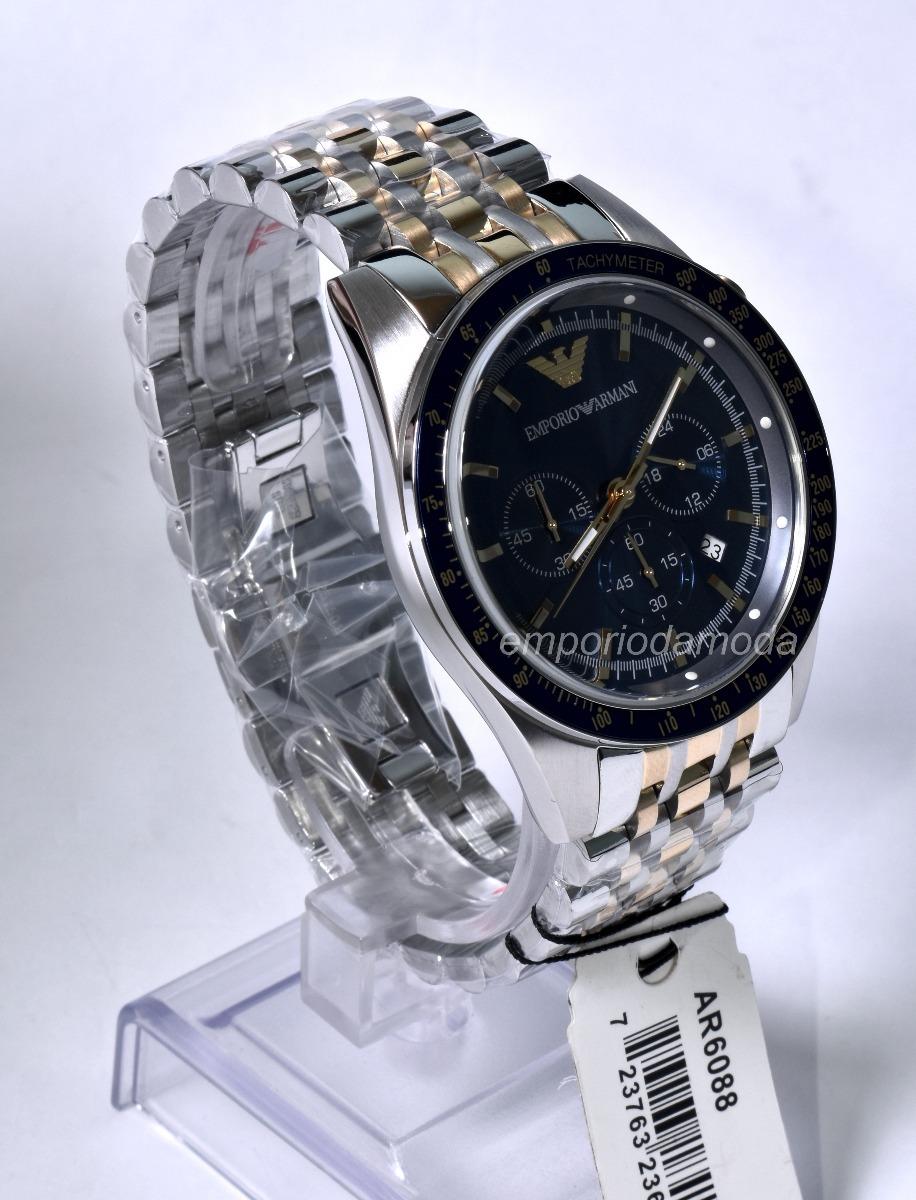relógio emporio armani ar6088 original + 3 anos de garanti. Carregando zoom. ba4e00c144