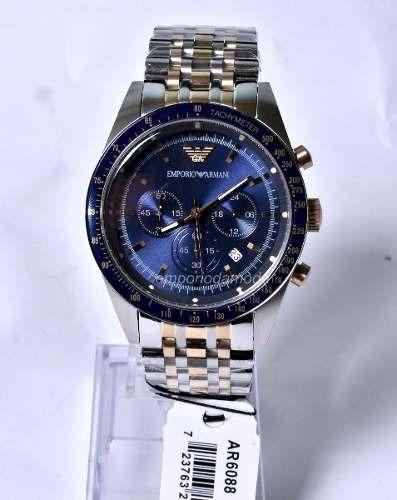 Relógio Emporio Armani Ar6088 Original + 3 Anos De Garantia - R  469 ... 0d751bc961