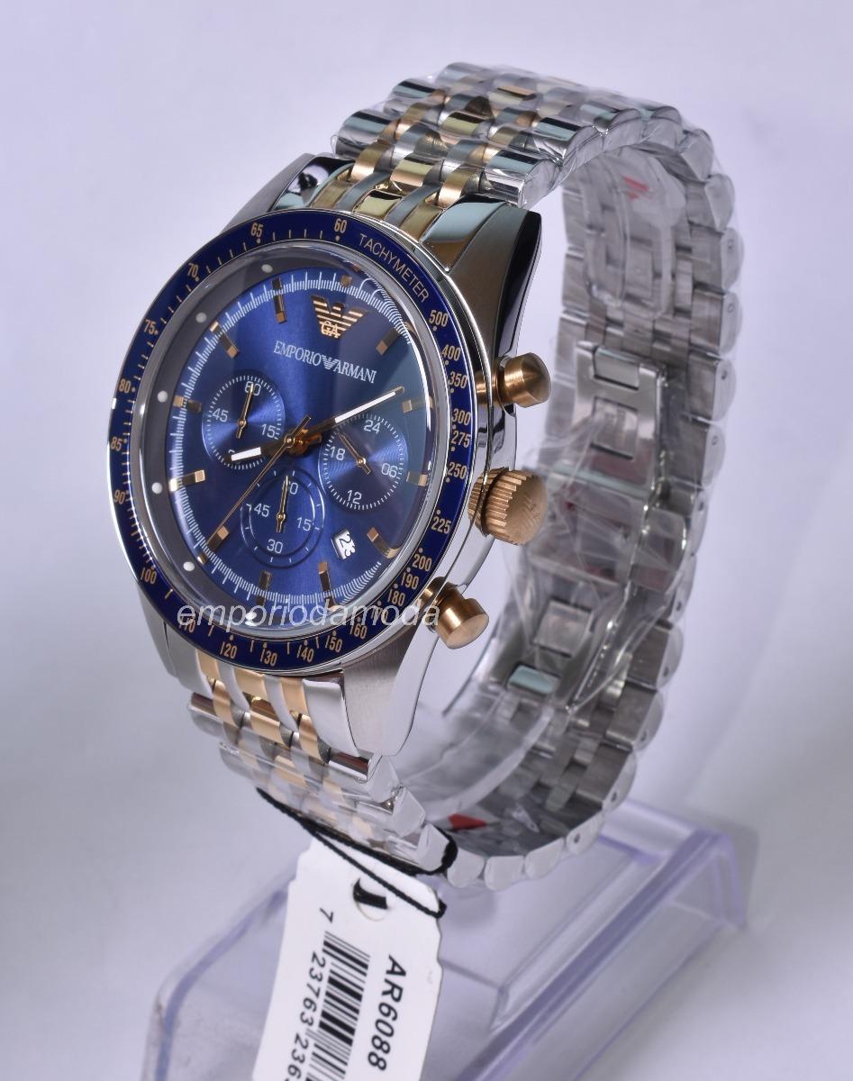 relógio emporio armani ar6088 original + caixa + garantia. Carregando zoom. 511d2b0453