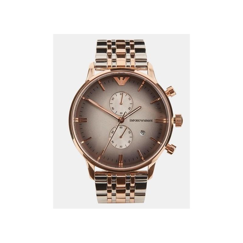 f1e112b1cf relógio emporio armani classic rosê masculino ar1721. Carregando zoom.