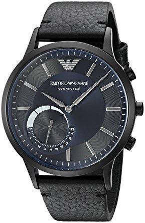 a8e0a335727 Relógio Emporio Armani Connected Art3004 Smartwatch Black - R ...