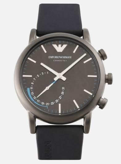 6a92c9f48f3 Relógio Emporio Armani Connected Smartwatch - Art3009 - R  1.899