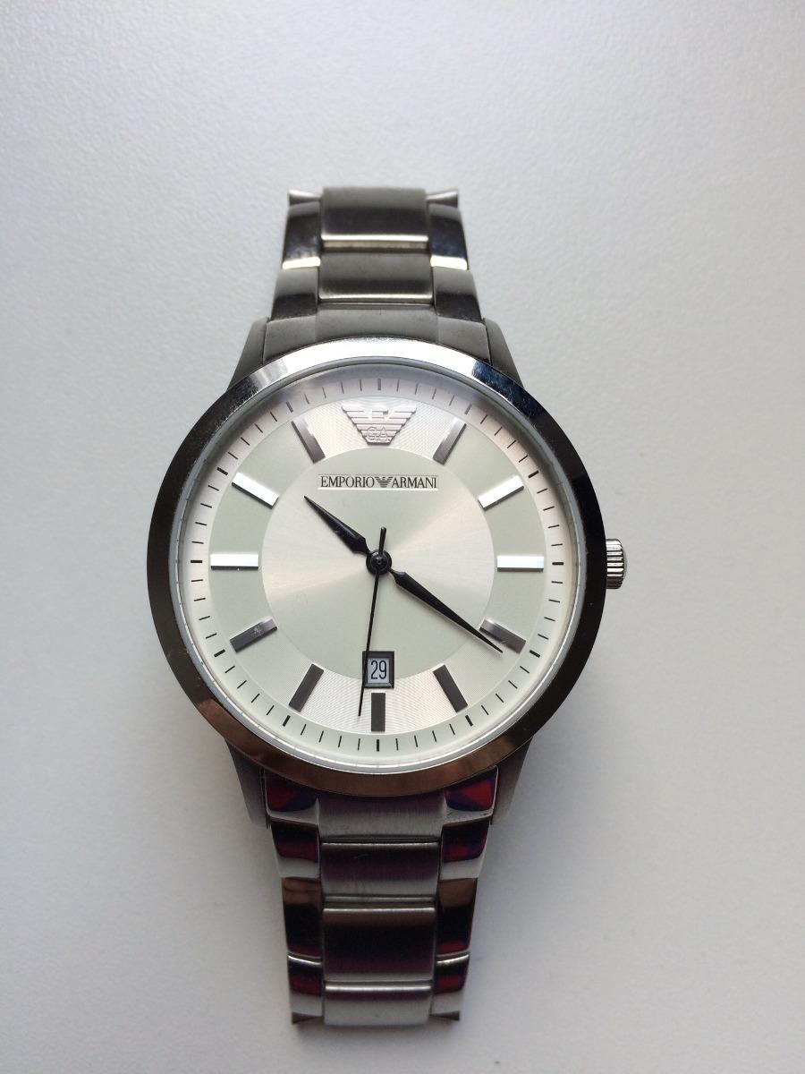 7b5731cc499 relógio empório armani em aço inoxidável original. Carregando zoom.