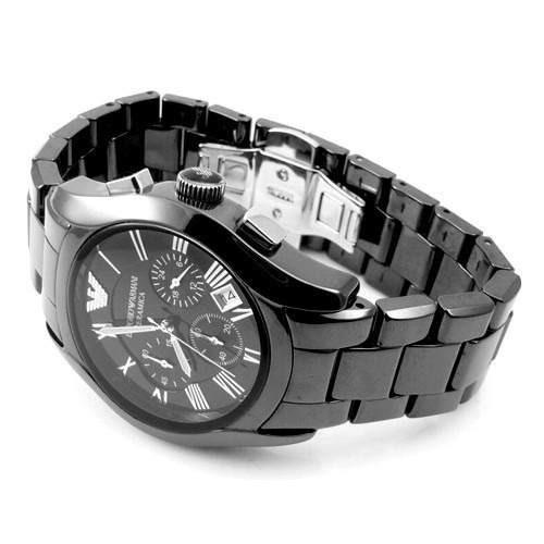 a6121533ead Relógio Emporio Armani Ar1400 Masculino Ceramica Completo - R  489 ...