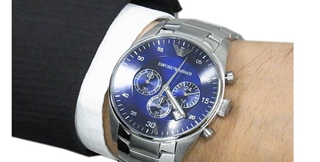 d3f06f8a49b Relógio Emporio Armani Ar5860 Original Masculino 43mm Oferta - R  335