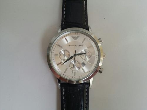 relógio emporio armani masculino ar2447 - envio imediato