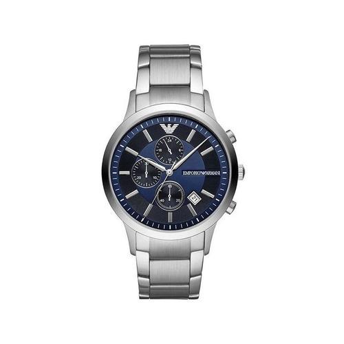 relógio empório armani masculino prata ar11164/1kn