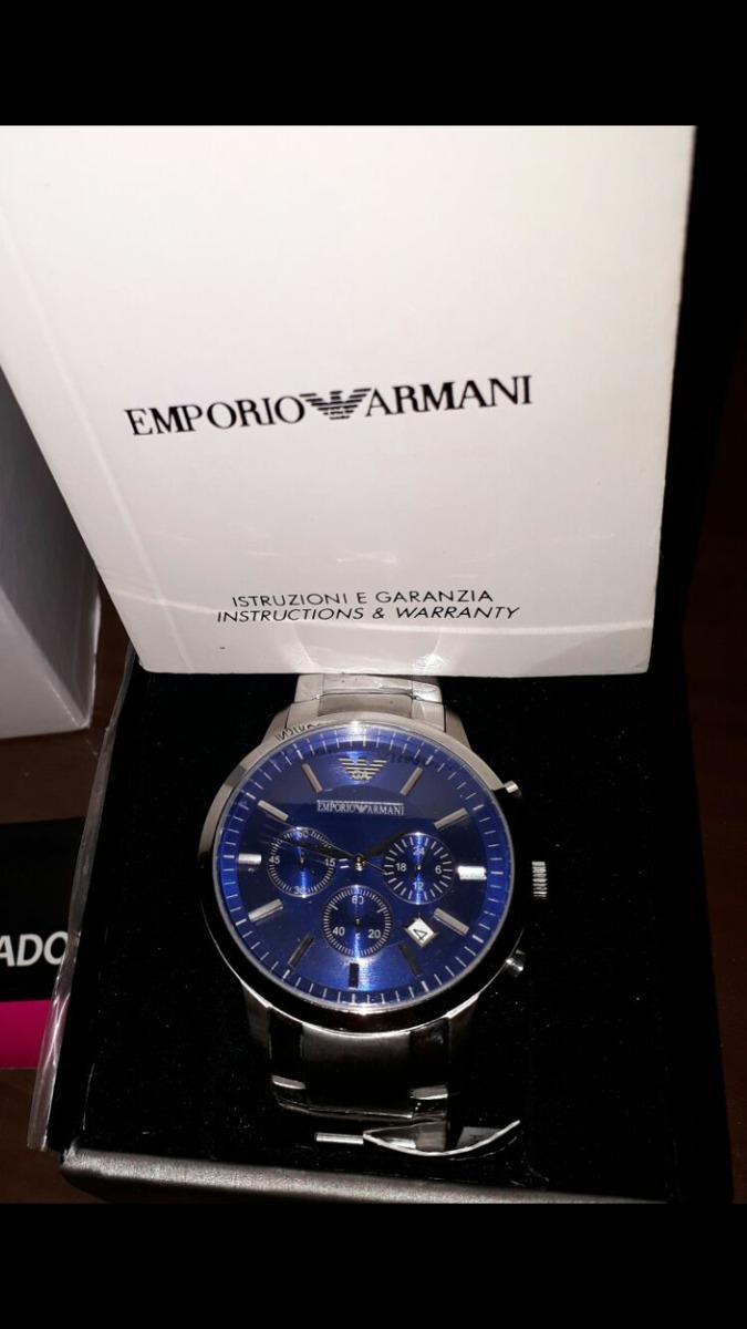 e0490bef234 relógio empório armani original promoção. Carregando zoom.