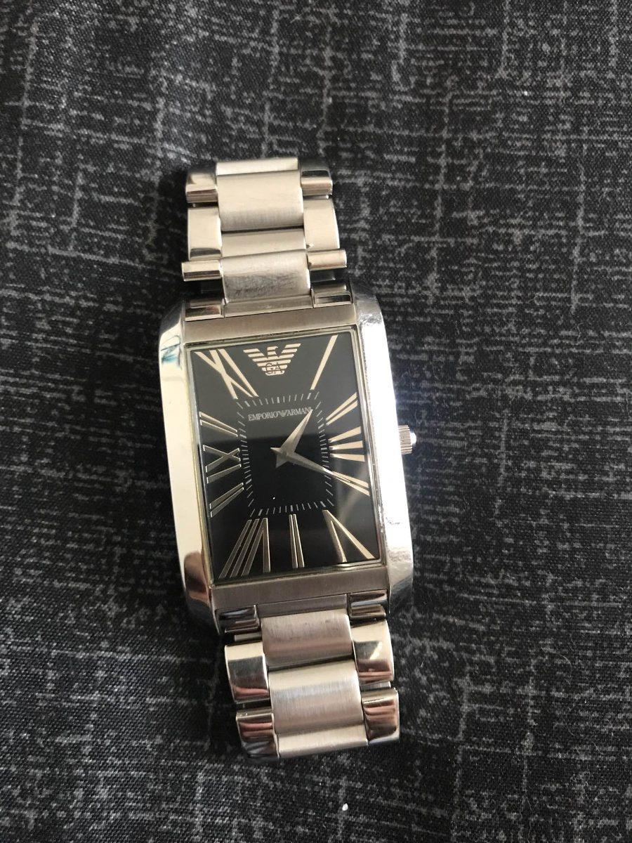 Relógio Emporio Armani Unissex Ar-2053 - R  350,00 em Mercado Livre 7851f2c1a1