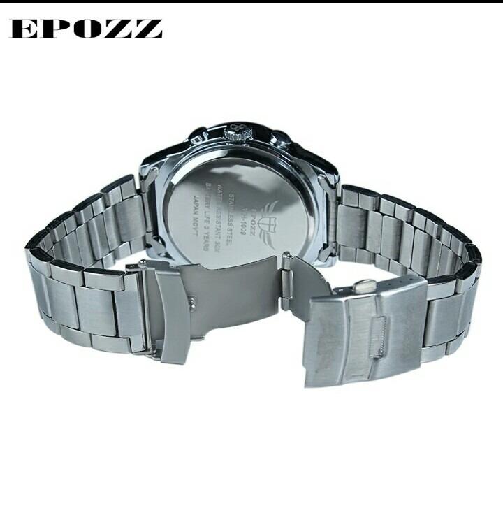 4bb929a81ec Relógio Epozz Farost Hill Analógico E Digital - R  179