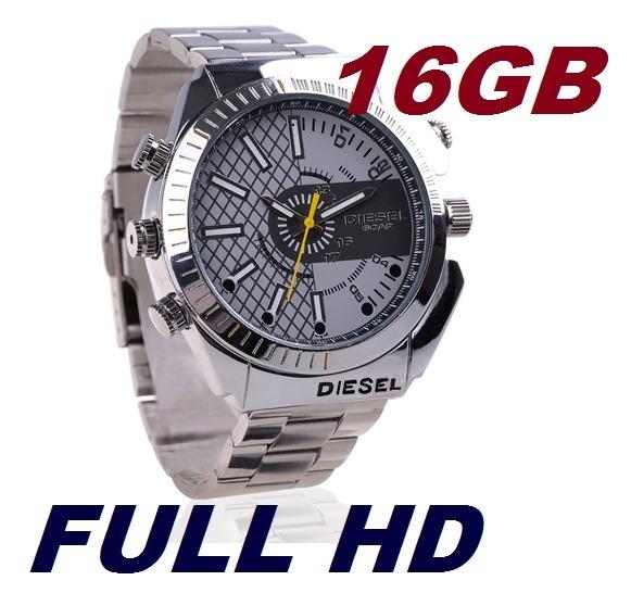 eca03fb242f Relógio Espião Em Hd 16gb
