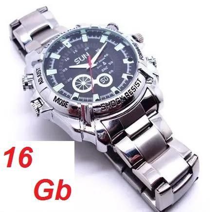 8a59bf68c54 Relógio Espião Visão Noturna W3000 Hd 1080p Melhor Preço!!! - R  999 ...