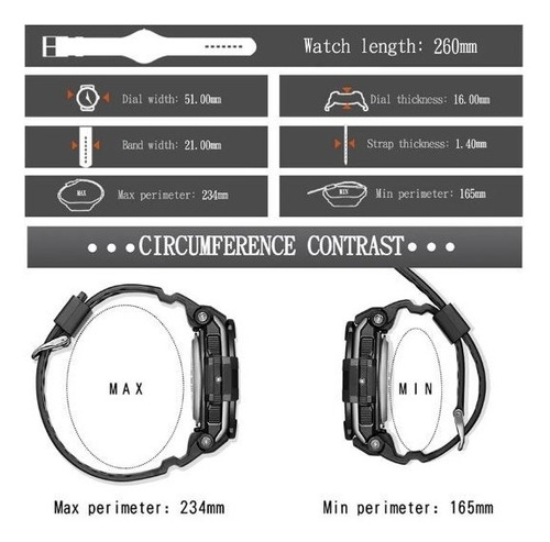 relógio esportivo analógico digital synoke qj1123 lindo top