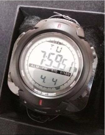 relogio esportivo atlantis 7330g pulseira borracha preto