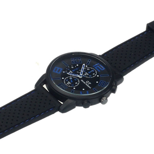 relógio esportivo azul