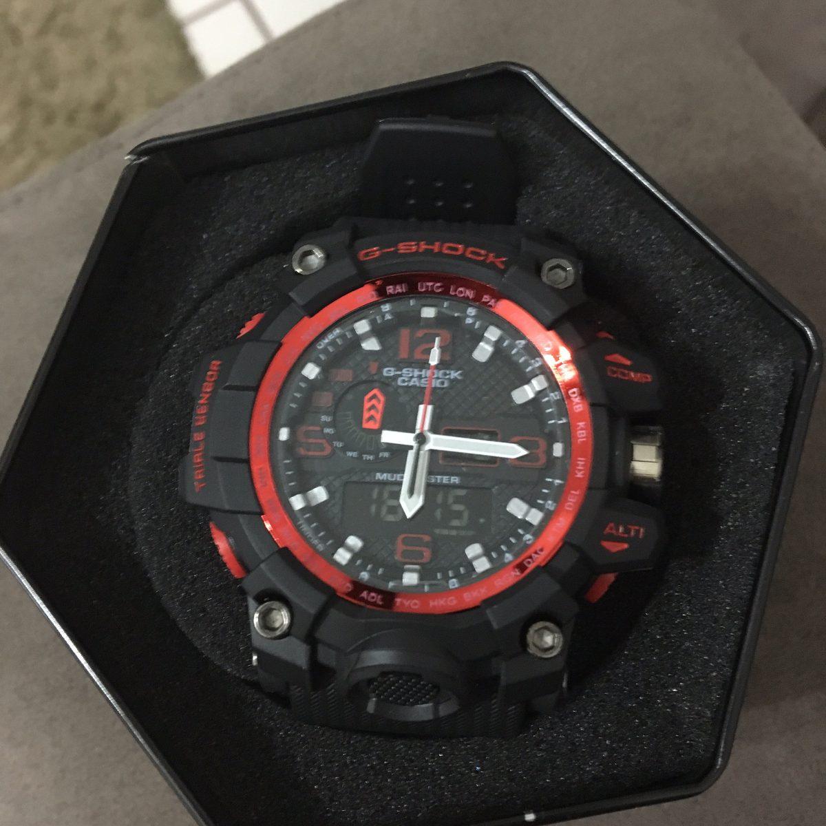 8151a76bb3d relógio esportivo casio g-shock a prova d água. Carregando zoom.