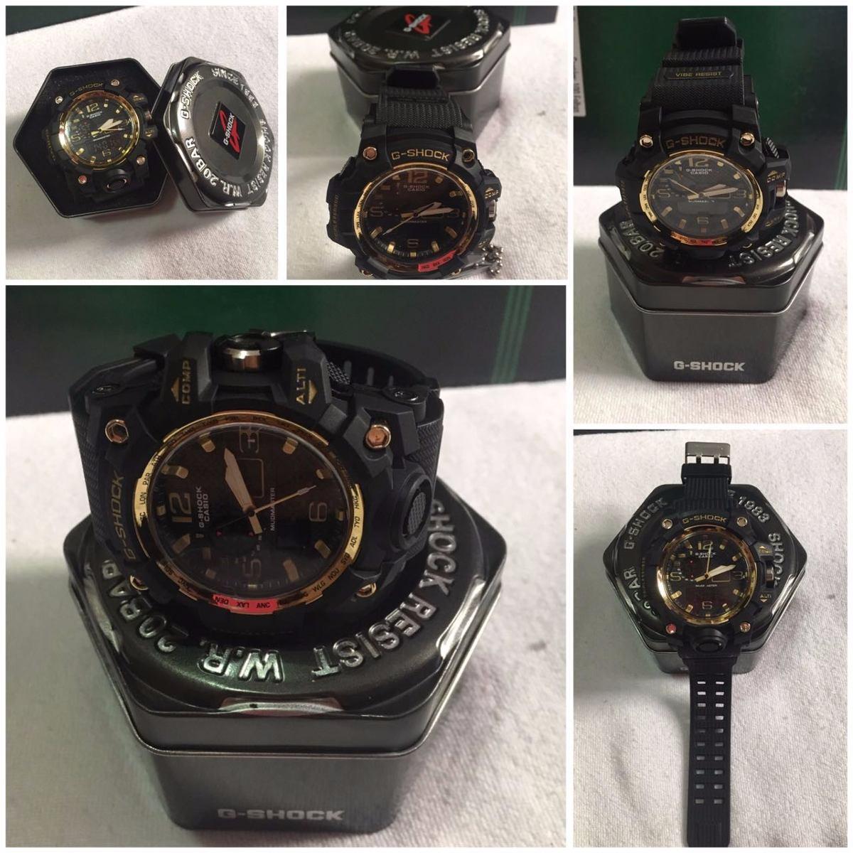 81632ed3f43 relógio esportivo casio g shock a prova d água masc. Carregando zoom.