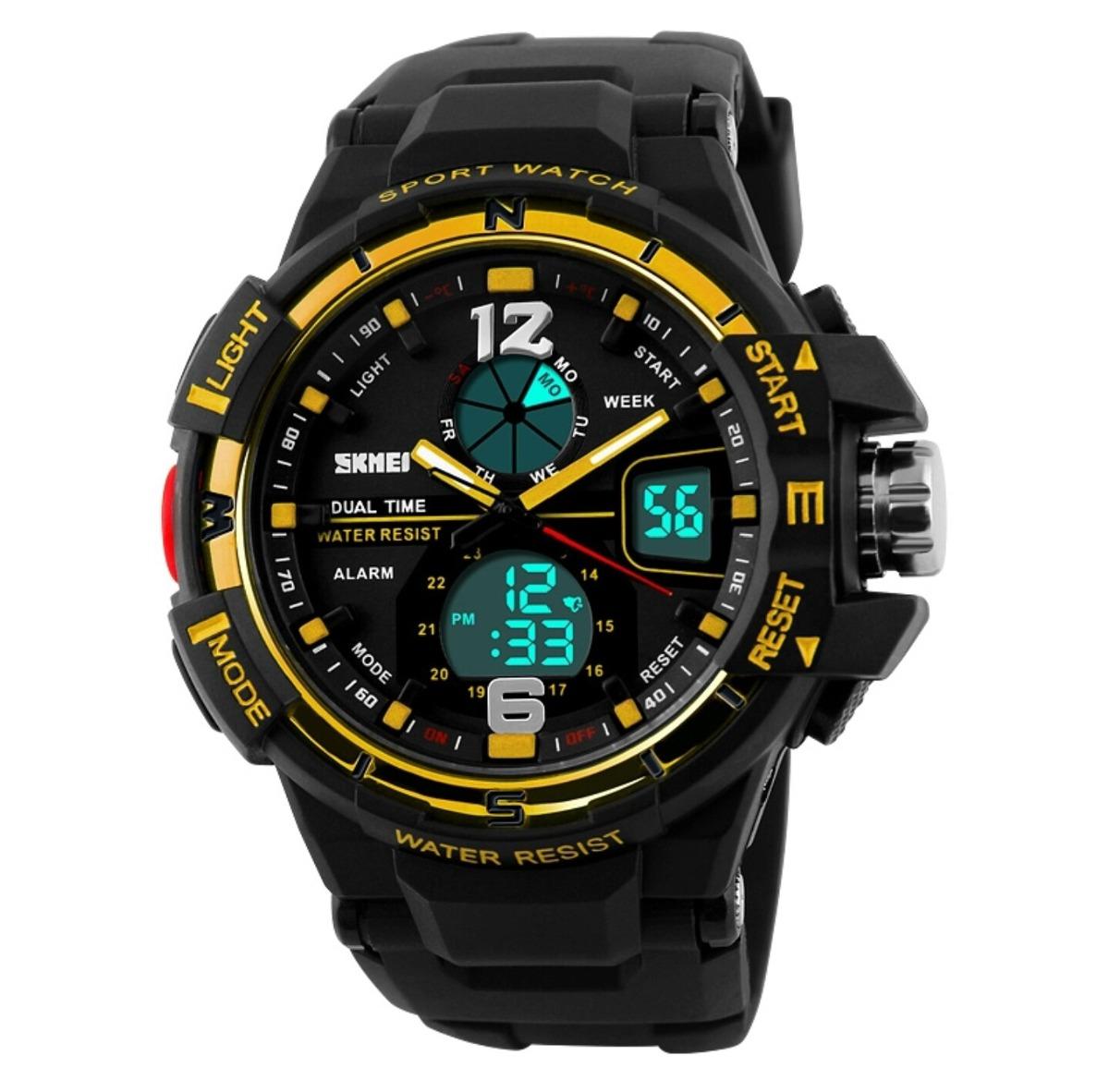 37f1f665ceb relógio esportivo digital aprova d água original cronômetro. Carregando zoom .
