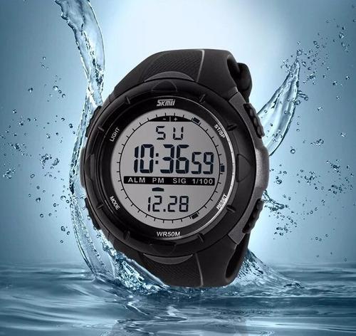 relogio esportivo digital  caminhada corrida a prova d' água