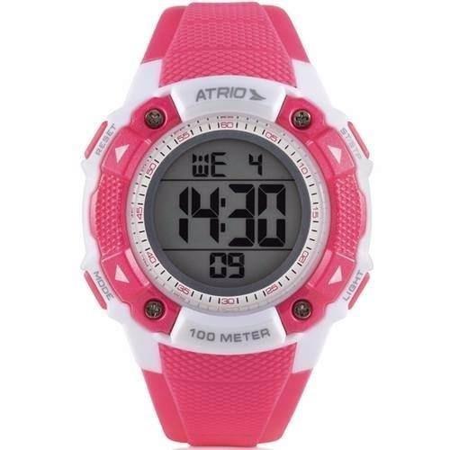 d6694bc51fb Relógio Esportivo Digital Feminino Prova D´agua 100m Rosa - R  59