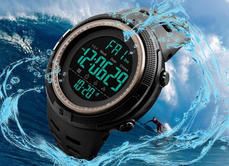 6b633fc44f3 relógio esportivo digital skmei 1251 á prova d água original. Carregando  zoom.