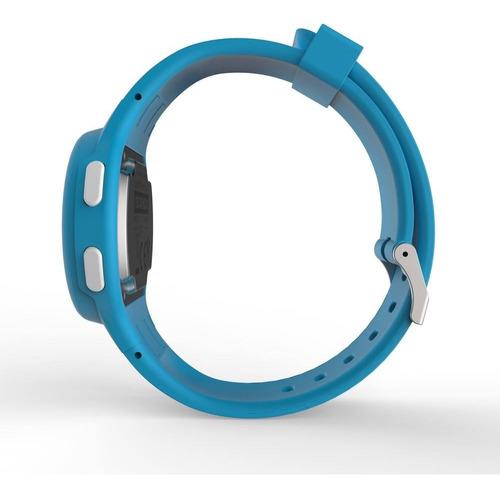 relógio esportivo digital w100 s prova d'agua azul