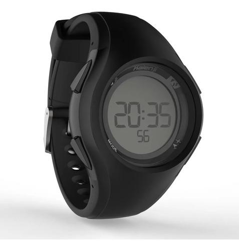 relógio esportivo digital w200 m kalenji a prova d'agua