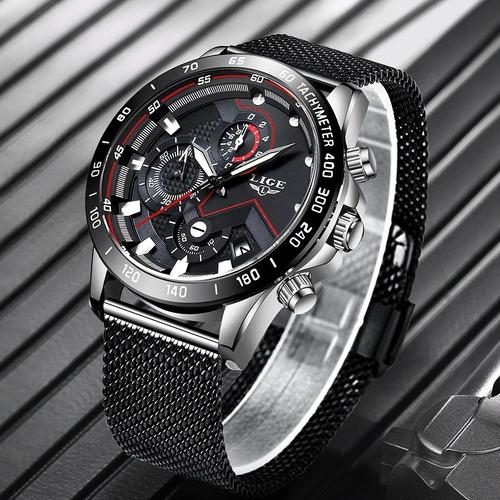 relógio esportivo lige  (importado + prova d'água)