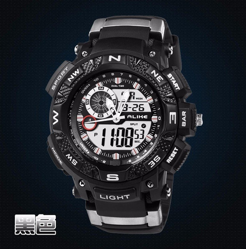 relógio esportivo masculino de alta qualidade a pronto envio