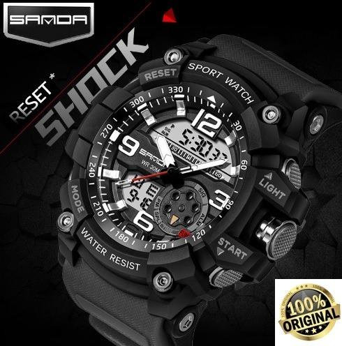 dd889abb2e0 Relógio Esportivo Masculino G-shock Sanda À Prova D agua - R  110