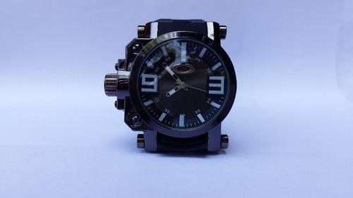 relogio esportivo masculino oakley gearbox titanium barato