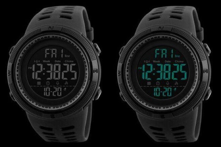 5739bbe7d31 Relógio Esportivo Masculino Skmei 1251 Led Digital + Brinde - R  49 ...