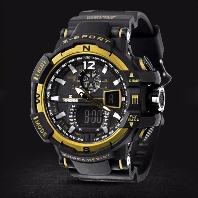 49cce81fcfb Relógio Esportivo Modelo Anti Shocking A Prova Dágua Militar - R  120