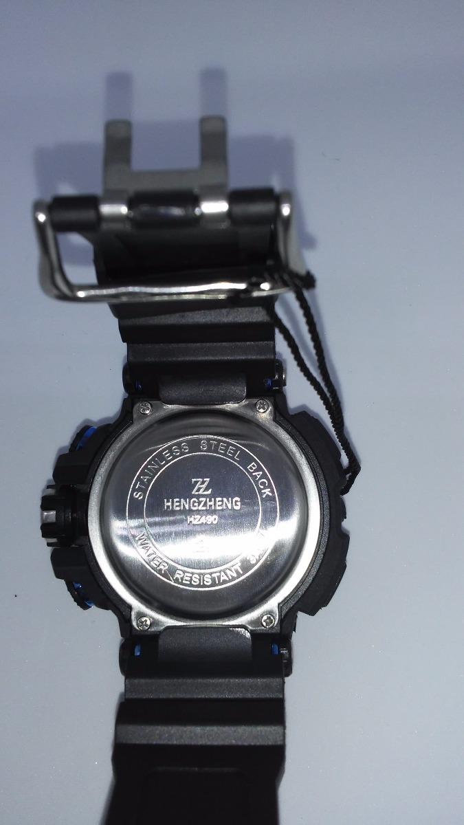6203583ae3d relógio esportivo modelo anti shocking a prova dágua militar. Carregando  zoom.