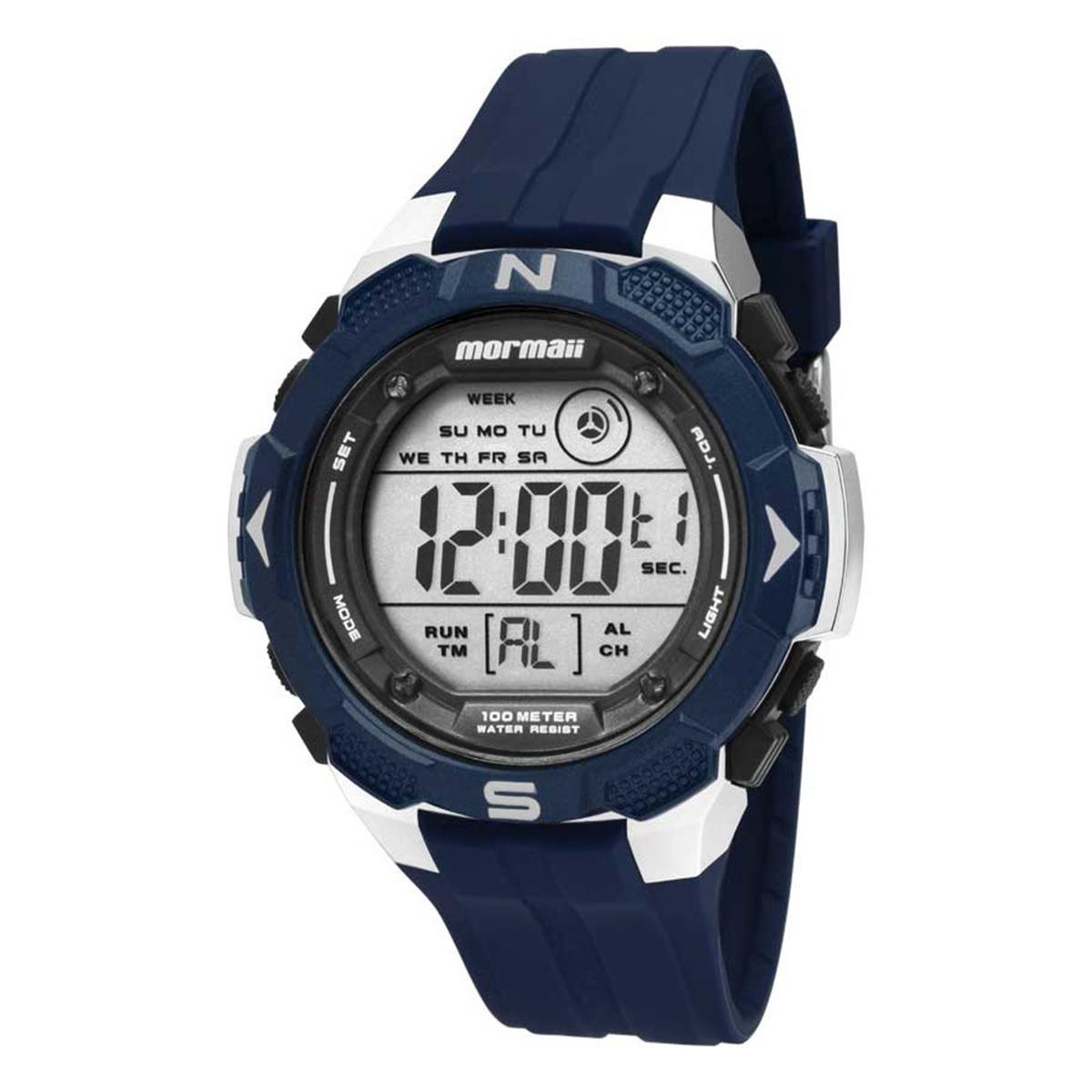 b3e25219566 relógio esportivo mormaii masculino digital 100m mo2908 8a. Carregando zoom.