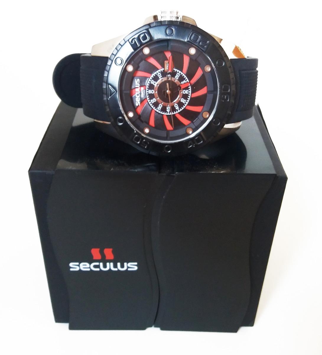 6f14c3741a1 relógio esportivo original seculus aviador presente de luxo. Carregando zoom .