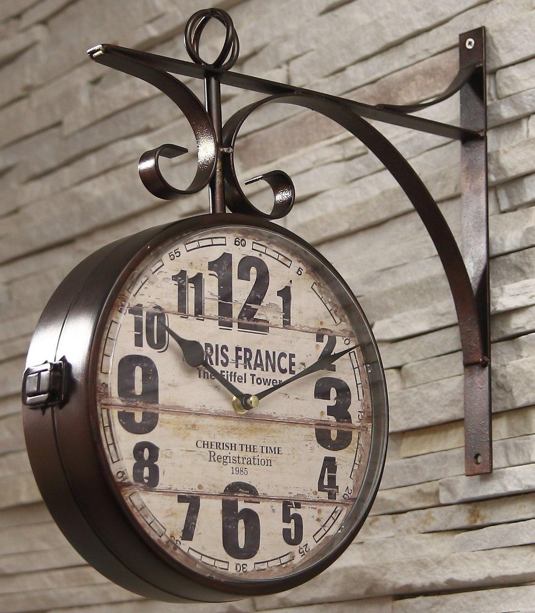 c9f79d809d3 Relógio Estação Ferroviária 1879 Paris Torre Eifflel - R  320