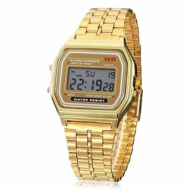 16242b2690f Relógio Estilo Casio Vintage Dourado! Estilo Tumblr - R  30