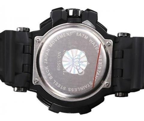 relógio estilo elegância s-shock smael prata original