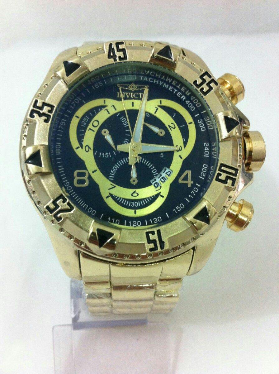 a8464eded43 relógio estilo invicta barato + ray ban gratis. Carregando zoom.