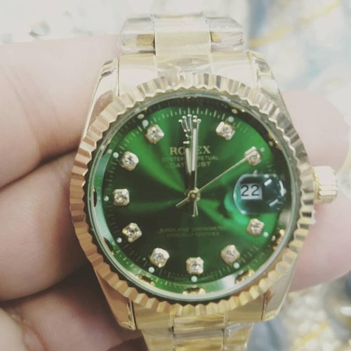 relógio estiloso 36mm fem. á prova d'agua luxuoso - barato