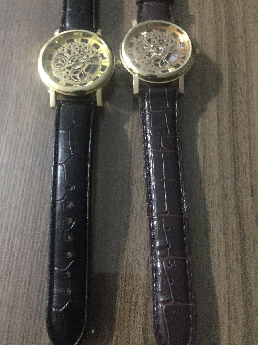 98f98d7bdc9 relógio estiloso modelo esqueleto. Carregando zoom.