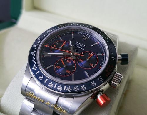 relógio eta - mod. daytona cool hand brooklyn exclusivo