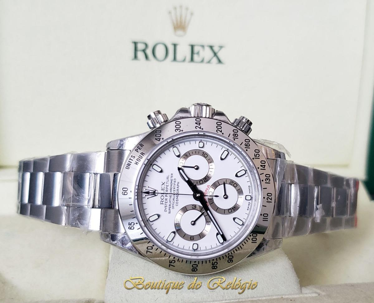 1039287c6d1 relógio eta - mod rolex daytona dial branco sa4130 - jh best. Carregando  zoom.